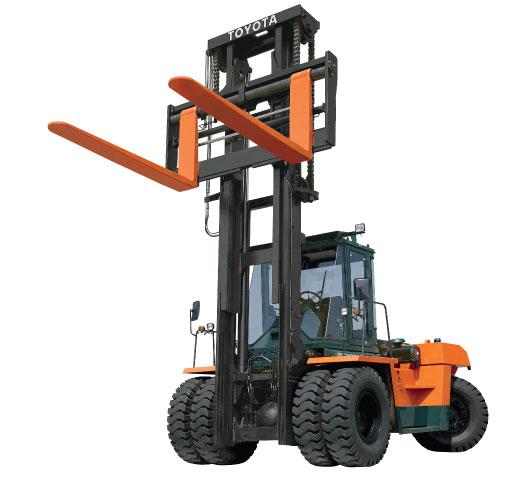 Forklift Mast Interlocking : Toyota tonne diesel pneumatic tyre forklift