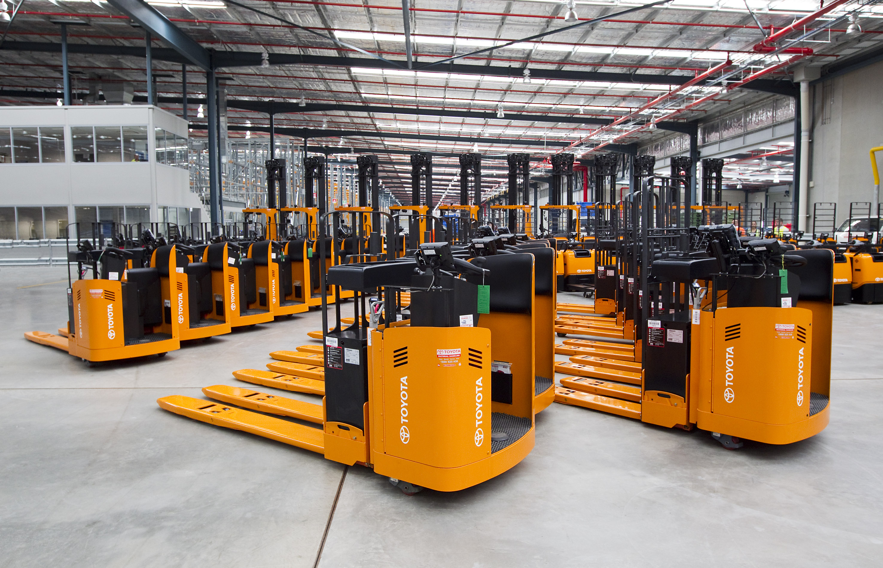 Toyota Maintains Forklift Market Leadership Toyota
