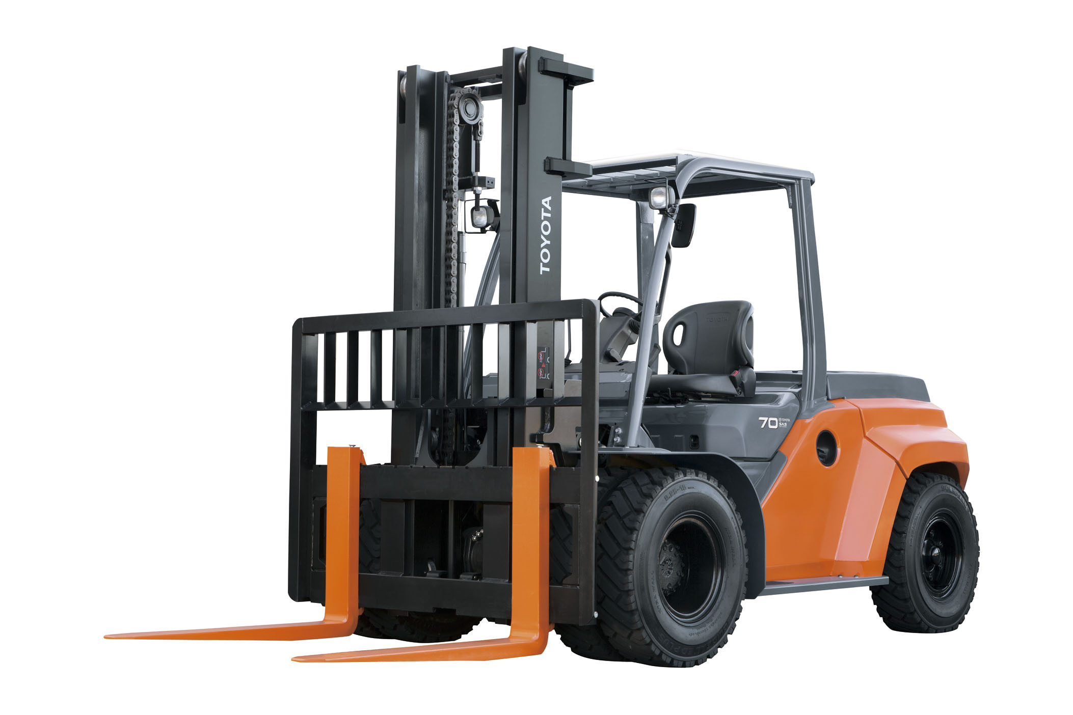 Fork Lift Guarding : Toyota launches new series large forklifts