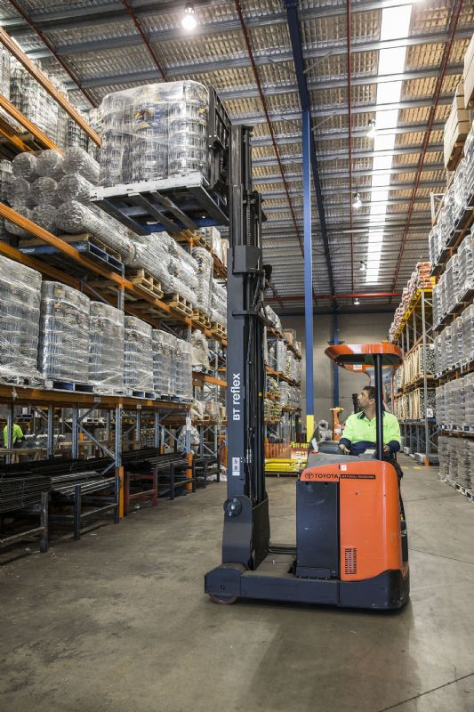 Whites Group Lifts With Toyota Forklifts Toyota Material