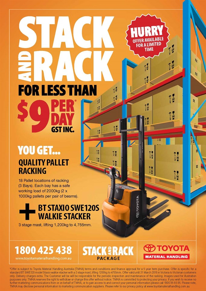 Rack and Stack Promotion