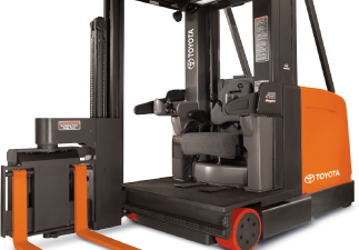 Very Narrow Aisle Forklifts | Toyota Forklifts