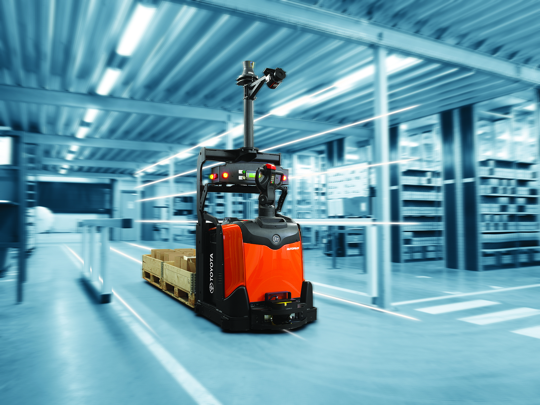 What Will Driverless Forklifts Mean For Your Warehouse Toyota Material Handling Australia S
