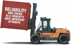<b>Reliability</b> - it's what Australian businesses look for in a forklift.