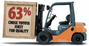 <b>Quality</b> - Who stacks up as Australia's forklift quality leader