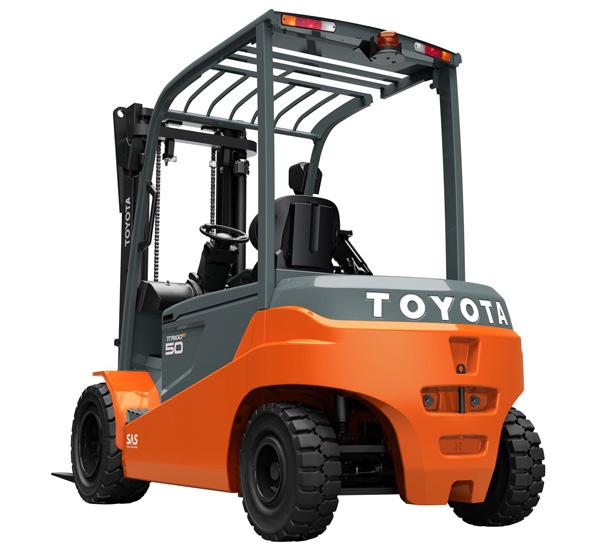Toyota 3 5 5 0 8fbmt 4 Wheel Battery Forklift Toyota