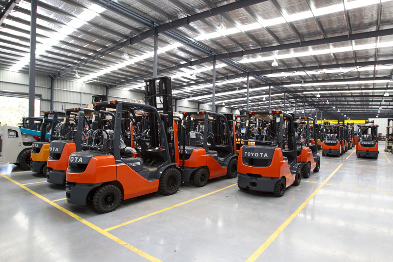 Amazing Toyota Material Handling Offers A Complete Range Of Forklift Hire And  Rental Plans