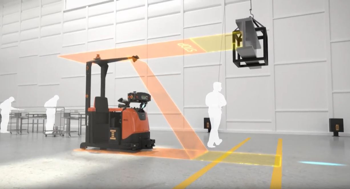 System Solutions - Automated Warehouse Trucks