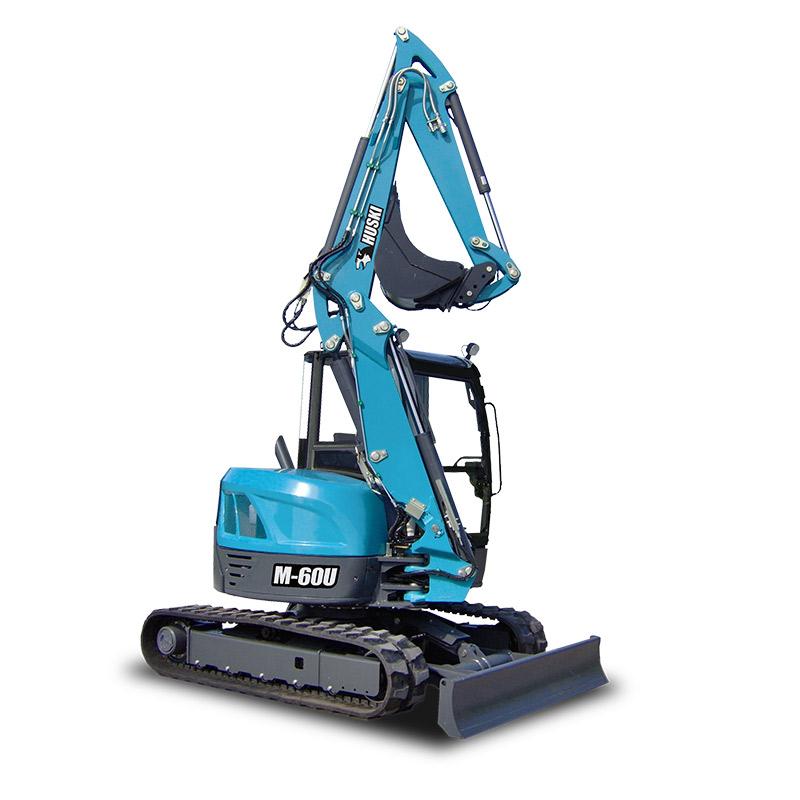 Toyota Material Handling Huski M 60u Zero Tailswing Mini Excavator