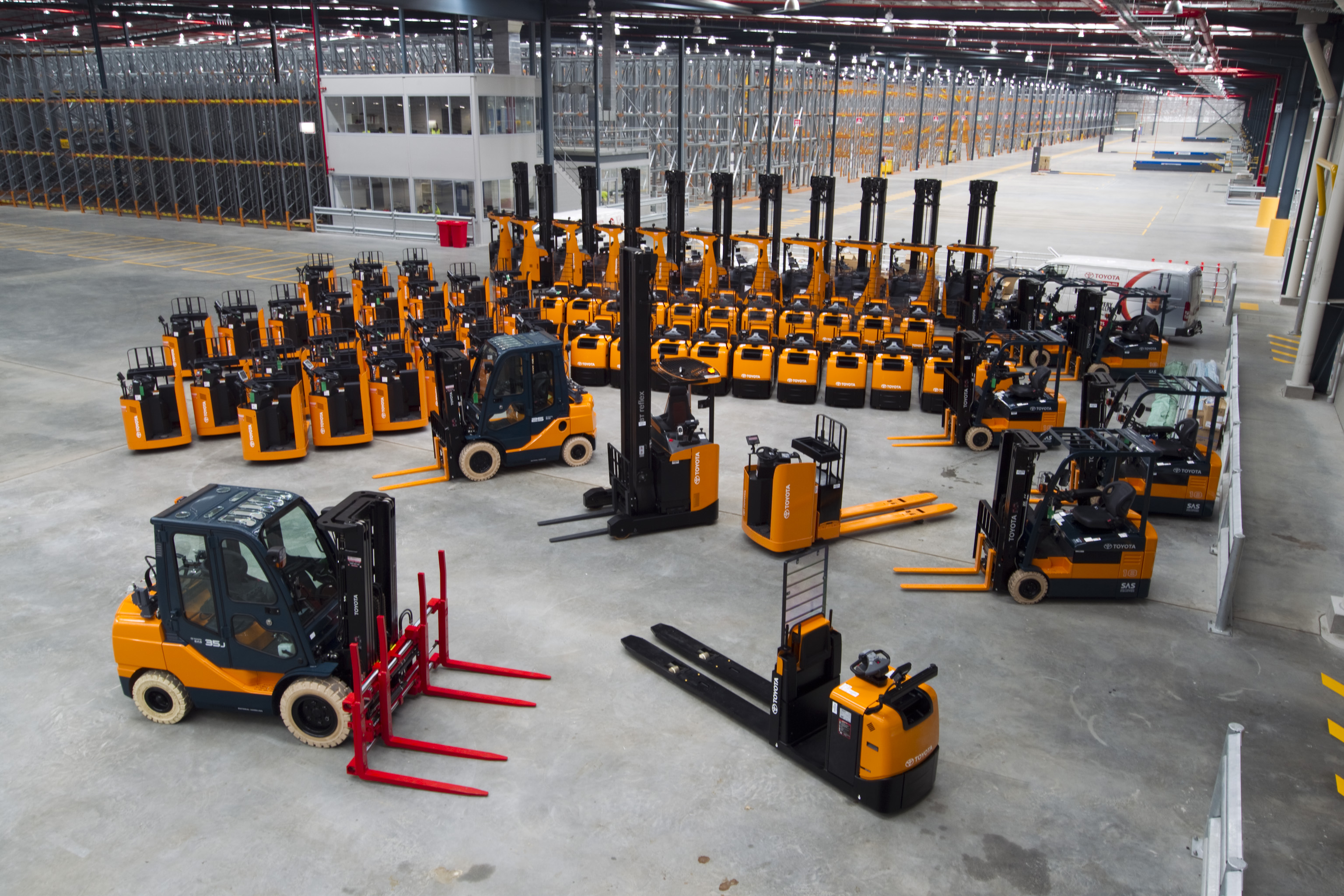 Toyota Number One In Forklift Sales Toyota Material Handling Australia S Leading Forklift
