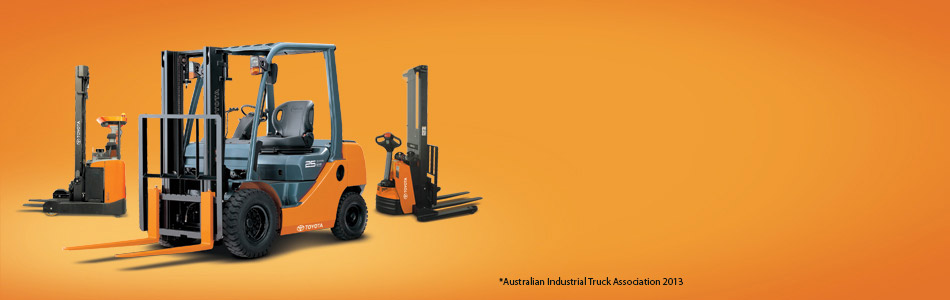 Australia's Number One forklift company*