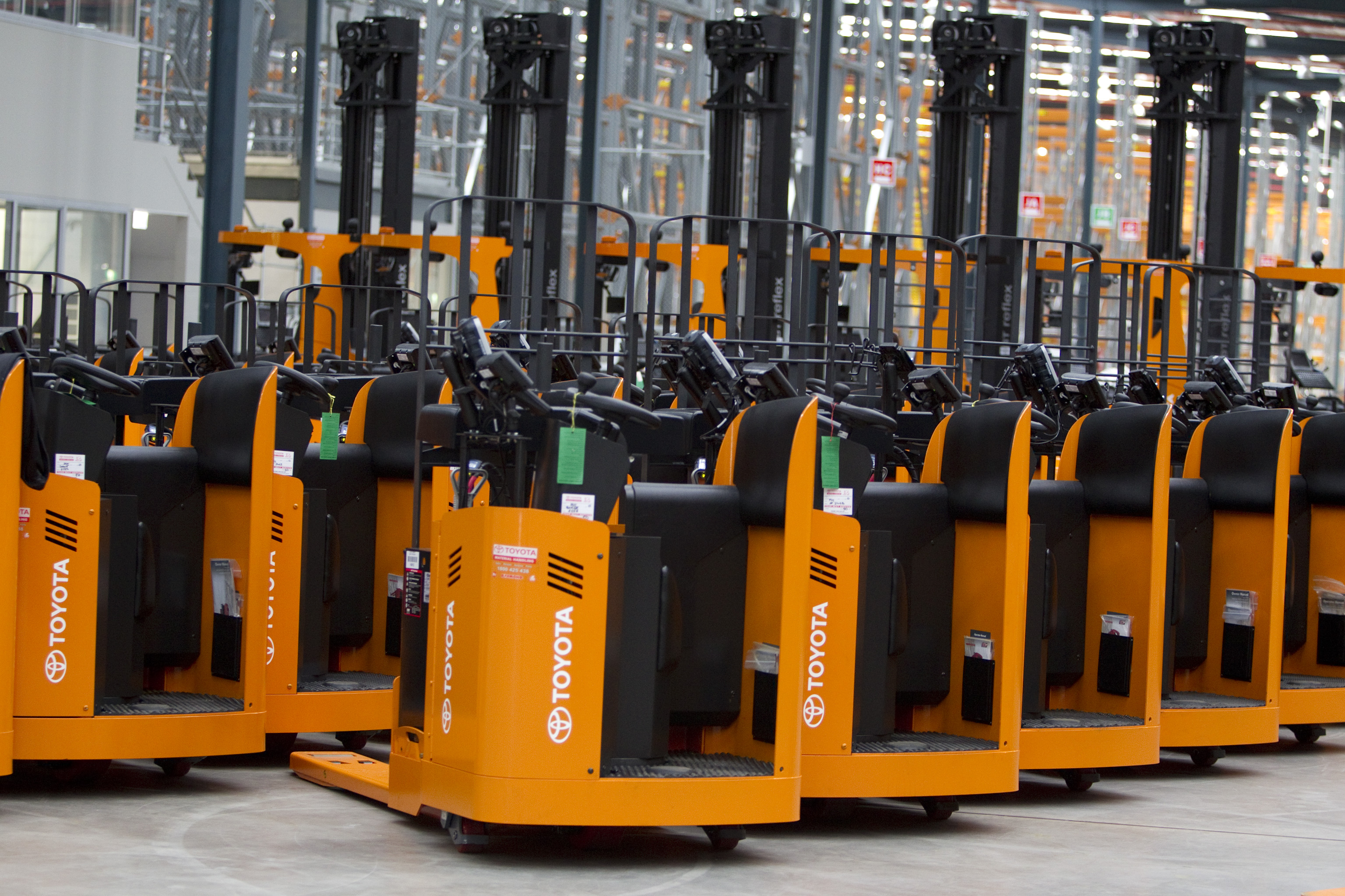 Toyota Forklifts Retain Number One Position Toyota